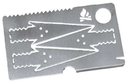 Bushcraft Essentials BE Survival-Pfeilkarte