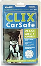 The Company of Animals Clix Carsafe In-Car Safety Harness For Dogs, Black, Medium