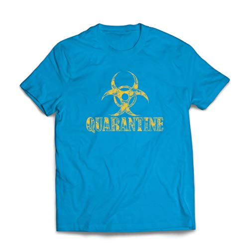 lepni.me Mannen T-shirt Self Quarantine and Chill Social Distancing Stay at Home Shirt