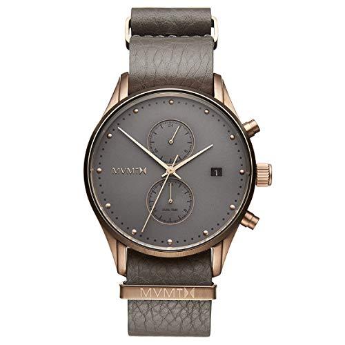 MVMT Voyager Watches | 42 MM Men's Analog Watch | Bronze Age