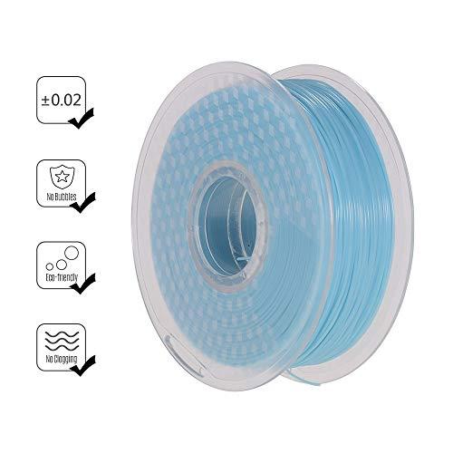 IJeilo Zonlicht/UV Lichtkleur Veranderend Blauw naar Paars PLA Filament 3D-printers, als reserveonderdelen verbruiksartikelen