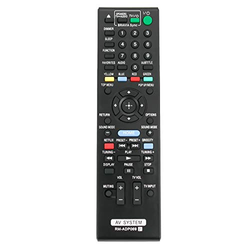 RM-ADP069 RMADP069 Replace Remote Control fit for Sony Blu-ray Disc DVD Player RM-ADP072 BDV-E280 BDV-T28 BDV-F7 BDV-N790W BDV-N890W BDV-N990W BDV-T57 BDV-T58 HBDE280 HBD-E280 HBD-E3100 HB-DE3100