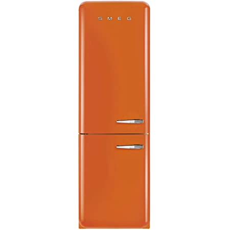 ft Capacity No Frost Fast-Freezing Automatic Defrost Adjustable Glass Shelves and LED Interior Lighting Pastel Green Smeg FAB32UPGRN 24 50s Retro Style Bottom Freezer Refrigerator with 10.74 cu