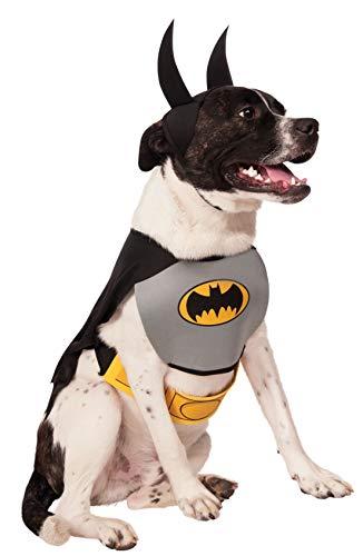 Rubies - Disfraz Oficial de Batman para Perro, Talla Grande