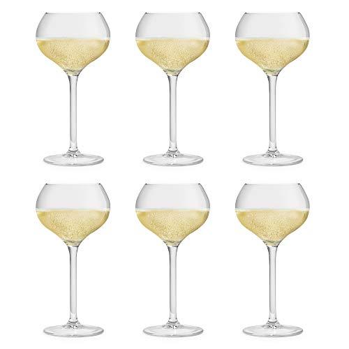 Libbey Bicchiere per Champagne Servan - 29 cl / 290 ml - set di 6 pezzi – lavabile in...