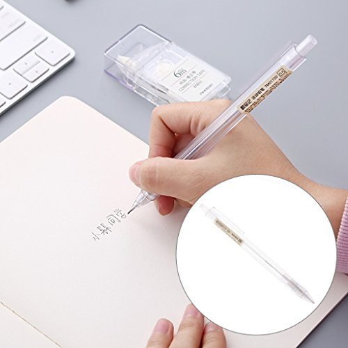 Pink-day Mechanical Pencil Transparent Automatic For Students Korean Stationery