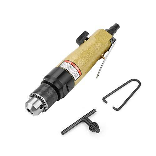 BWLZSP Taladro de Destornillador de Aire neumático de 3/8', Herramienta de perforación Industrial de Tipo Reversible, 900 RPM, Destornillador de Aire Industrial de Taladro neumático