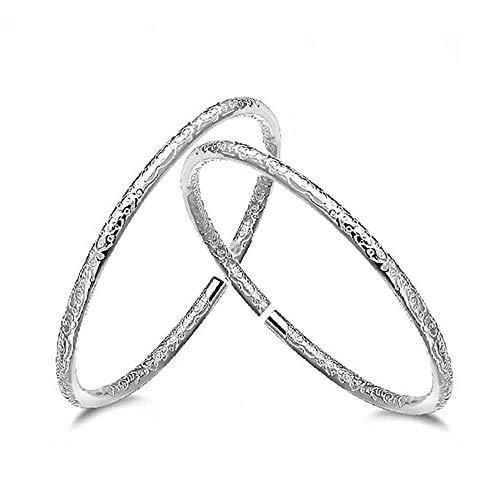 Qiiiueen Damen-Armband, Boho, Silberfarben