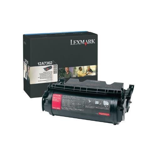 Price comparison product image Lexmark 12A7362 OEM Toner - T630 T632 T634 X630 X632 X634 High Yield Toner (21000 Yield) OEM