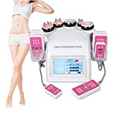 6 in 1 Dual-Color Body Massage Shaping Machine Face Tighten Skin Massager for Home Salon Use, 110V