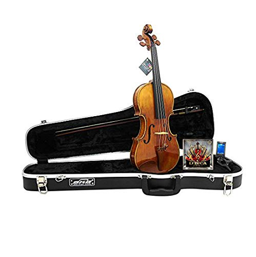 D'Luca PROV-CA800-44 Strauss 800 Espressivo Violin Antique Finish 4/4 with SKB Molded Case
