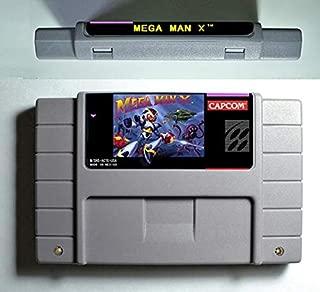 Game card - Game Cartridge 16 Bit SNES , Game Mega Man Megaman Series Games Mega Man X - Action Game Card US Version English Language