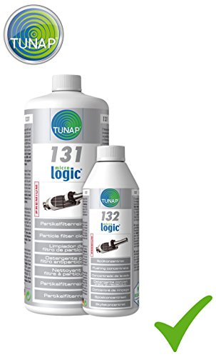 TUNAP MICROLOGIC® Premium Set 131 Dieselpartikelfilterreiniger 1L + 132 Spülkonzentrat 500ml