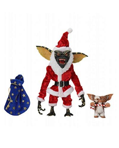 Horror-Shop Santa Stripe & Gizmo Juego De Figuras De Acción De 2