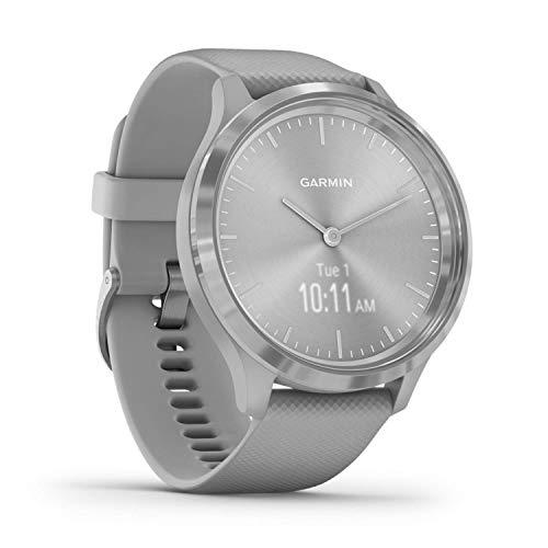 Garmin vívomove 3, Smartwatch híbrido con pantalla oculta, 44 mm Gris