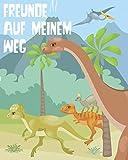 Freunde auf meinem Weg: Freundebuch Grundschule. Erinnerungsalbum erstes Schuljahr. Für Jungen....