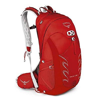 Osprey Packs Talon 22 Men's Hiking Backpack, Medium/Large, Martian Red