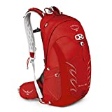 Osprey Packs Talon 22 Men's Hiking Backpack, Medium/Large, Martian Red