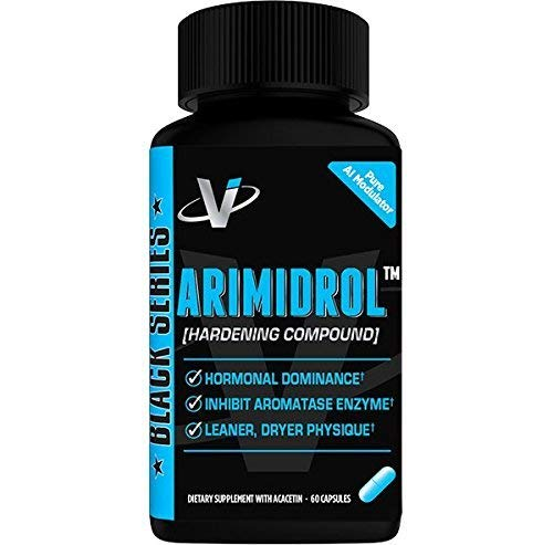 VMI Sports   Arimidrol Hardening Compound   Natural Estrogen Blocker for Men   Testosterone Booster and Aromatase Inhibitor   to Build Muscle and Burn Fat   Anti Estrogen for Men (60 Capsules)