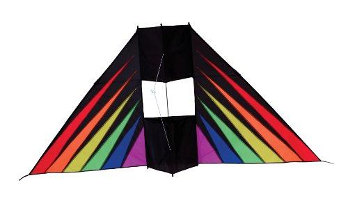 In the Breeze Rainbow Burst Conyne Delta Kite, 6-Feet