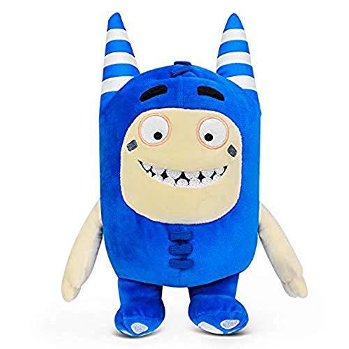 LINQ Plüsch Spielzeugpuppe, Ragpuppe, Cartoon Anime Puppe, 18 cm Puppe A, Farbe: Zee (grün) (Farbe: Blasen (gelb)) (Color : Pogo (Blue))