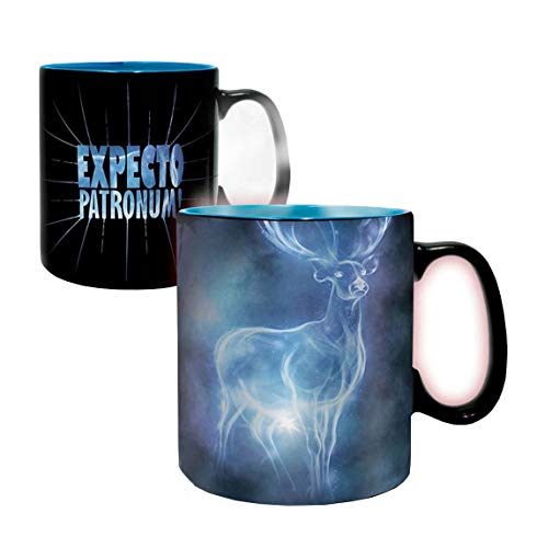 ABYstyle - HARRY POTTER - taza effecto termico- 460 ml - Patronus