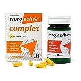 NEU | Viproactive® Complex | Multivitamin Kapseln | Fördert das Immunsystem | Bessere Aufnahme der Nährstoffe durch patentiertes Vitaprotein | 60 Kapseln | In Deutschland hergestellt