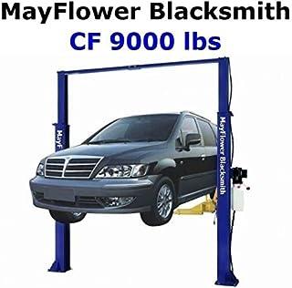 Mayflower Blacksmith Heavy Duty Clear Floor Two Post Lift Car Lift CF 9000 lbs