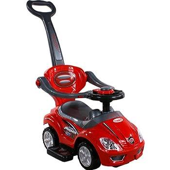 BSD Baby Spielzeugauto 381 Mega Car Deluxe Red Rot Lauflernhilfe Lauflernwagen Kinderfahrzeuge
