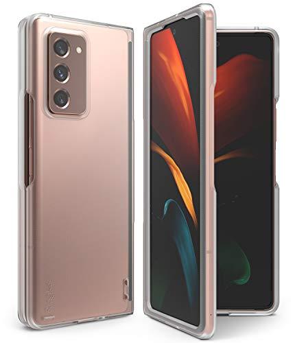 Ringke Slim Compatibel mit Galaxy Z Fold 2 Hülle (2020) - Matte Clear