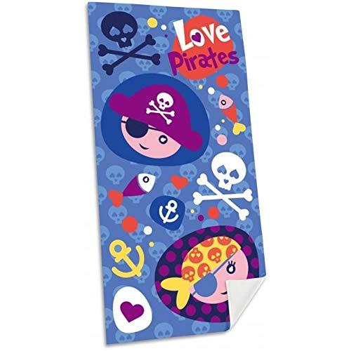 Kid Licensing Toalla de Playa Poliester Pirates - Toallas