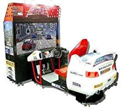 Sega Rally 3 / SR3 Video Racing Arcade Game - Deluxe Model