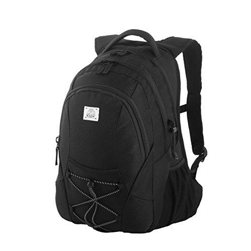 Rada Rucksack RS/3, Freizeitrucksack mit 39 Liter Volumen, DIN A4 Ordner kompatibler Schulrucksack für Mädchen und Jungen, Wasserabweisender Daypack, Damen und Herren, für Frei