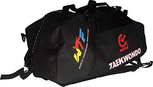 Wacoku Aprobado por la Wtf Taekwondo Lona Bolsa de Deporte & Mochila