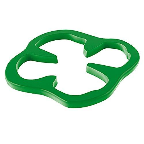 Zak Designs 0360-0900 Dessous de Plat poivron 15 cm-Vert, Plastique, 45x35x25 cm