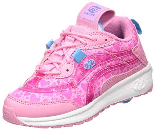 Heelys Mädchen Nitro (he100740) Leichtathletik-Schuh, Light Pink/Pink Hearts, 32 EU