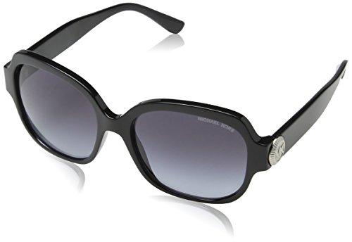 Michael Kors Damen Suz 317711 56 Sonnenbrille, Schwarz (Black/Grey Gradient)