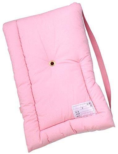 防炎協会認定カネカロン防災クッション(S) 幼児用26x37cm ピンク