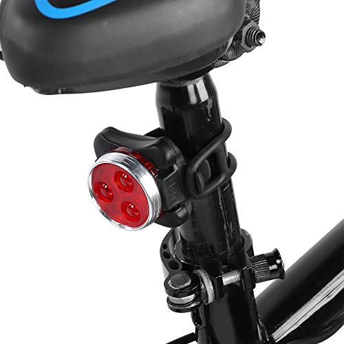 ohcoolstule 1 Pair USB Rechargeable Bike Tail Light Waterproof Rear LED Bicycle Light Night Ride Cycling Equipment