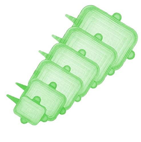 Funda de silicona ajustable y reutilizable.