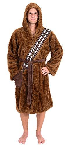 Disney Star Wars Offizielles Lizenzprodukt für Erwachsene – Herren und Damen – Fleece-Bademäntel Gr. Einheitsgröße, Chewbacca
