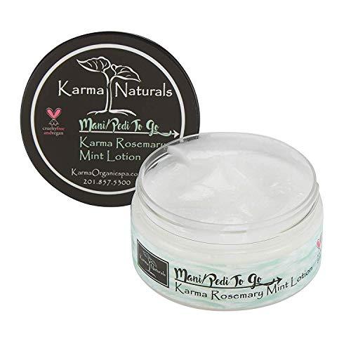 Karma Organic Rosemary Mint Lotion- Superfluous Hydratant et réduit le gras supplémentaire
