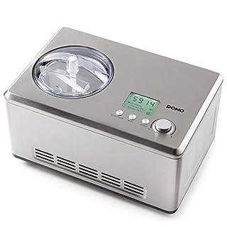 Domo DO9201I Eismaschine, Edelstahl rostfrei, 2 liters, Silber (B016J1LN7W) | Amazon price tracker / tracking, Amazon price history charts, Amazon price watches, Amazon price drop alerts