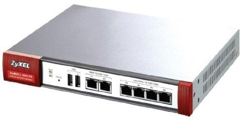 ZyXEL ZyWALL USG 50 180 Mbit/s Firewall (hardware) – Firewall (180 Mbit/s, 90 Mbit/s, 10 gebruikers, bekabeld, Ethernet (RJ-45), IEEE 802.11b/g/n)