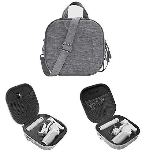 HIJIAO Hartschalen-Schutzhülle für DJI Osmo Mobile 3, wasserdichte Reisetasche für Osmo Mobile 3 Zubehör, grau