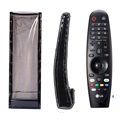 PRUSHTI COVER AND BAGS, Protective Cover Compatible with LG MR600, LG MR600(2015), LG MR650, LG AN-MR19BA Smart LED Remote Control,PU Leather Cover Holder.