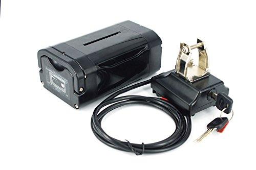 PowerSmart® EBS Pedelec Seatspost Li-ionen Batterie Akku, 36V - 14Ah - 504Wh (mit Panasonic Zellen), inkl. Halterung