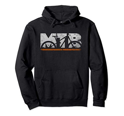 Cool MTB Mountain Bike Regalo Da Uomo Vintage Retrò Felpa con Cappuccio
