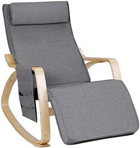Productworld258 Relax Adjustable Lounge Rocking with Pillo Chair Max 62% OFF Cheap bargain
