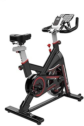 YXYY Entrenador de Bicicletas, Bicicleta estática para Interiores Soporte multifunción de Resistencia Ajustable Equipo de Ejercicios para Bajar de Peso Deportes en casa Bicicleta estática Máquina